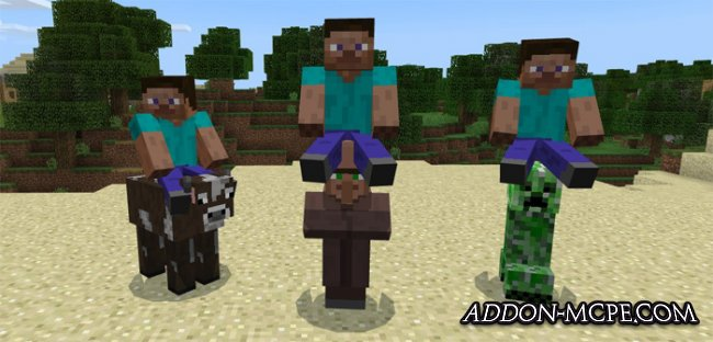 Мод All Mobs Rideable 1.1/1.1.2