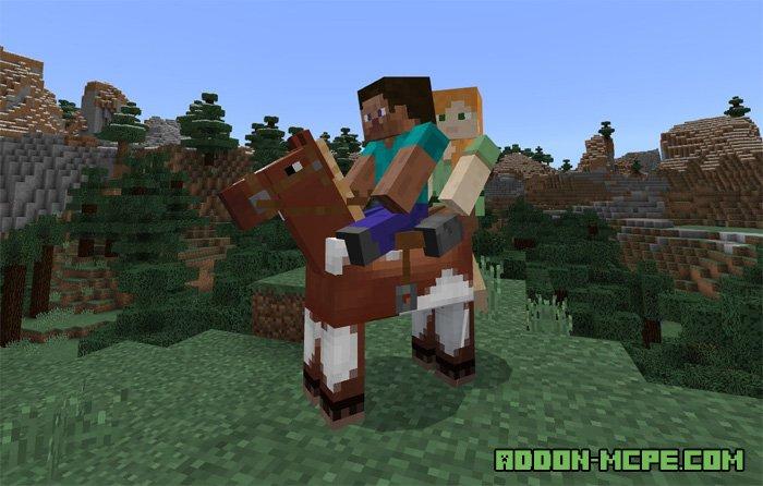 Когда в майнкрафт пе добавят лошадей
