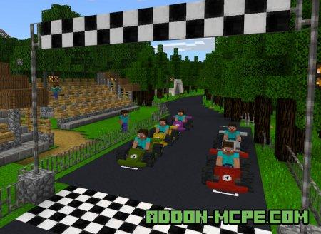 карты гонки игры играть