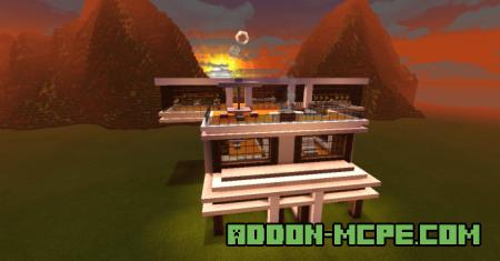 Мод: Построить дом с помощью команд